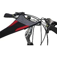WANDERVOGEL Toile Anti-Transpireation pour vélo,Accessoires de Vélo Home Trainer,Couvert de la Sueur Filet Net pour Cadre de Vélo