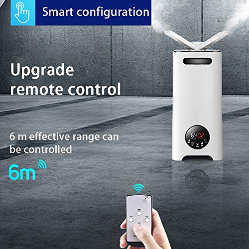 Amazon.com: Humidifier Mano Home 13L Large Capacity Industrial air Commercial Office Workshop Supermarket Vegetable Fruit Floor Sprayer (Color : Milky White ...