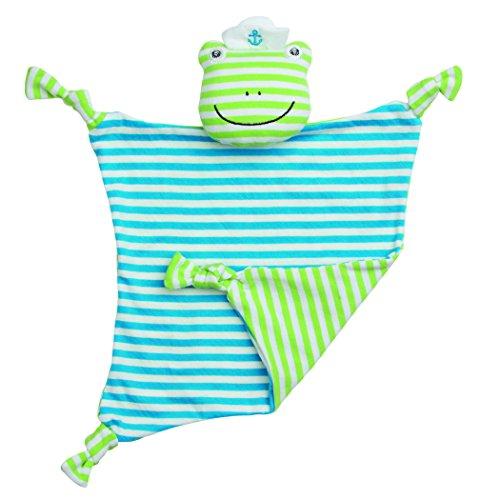 Organic Frog Rattle (Organic Farm Buddies Blankie - Skippy Frog)