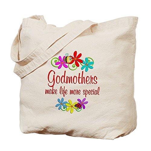 CafePress–madrina especial–gamuza de bolsa de lona bolsa, bolsa de la compra