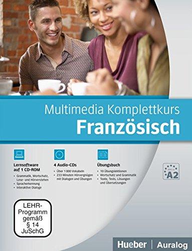 Multimedia Komplettkurs Französisch: Buch mit 4 Audio-CDs und 1 CD-ROM