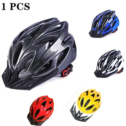 Lsooyys Bicycle Helmet adults for Men Women, Size 52-61cm, Adjustable, Breathable, Detachable Head Safety Helmet