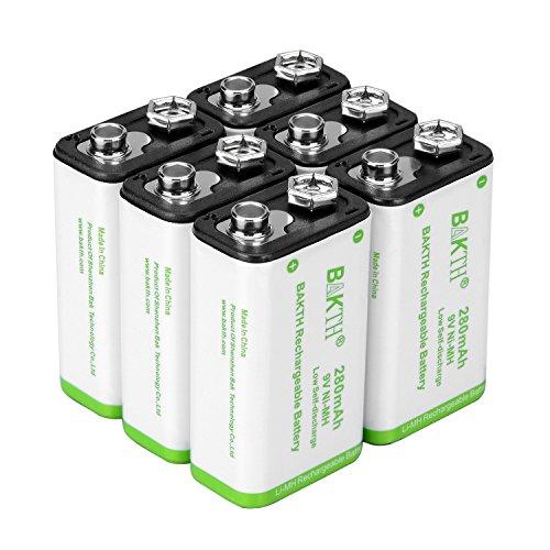 2 9v Nimh Batteries - 8