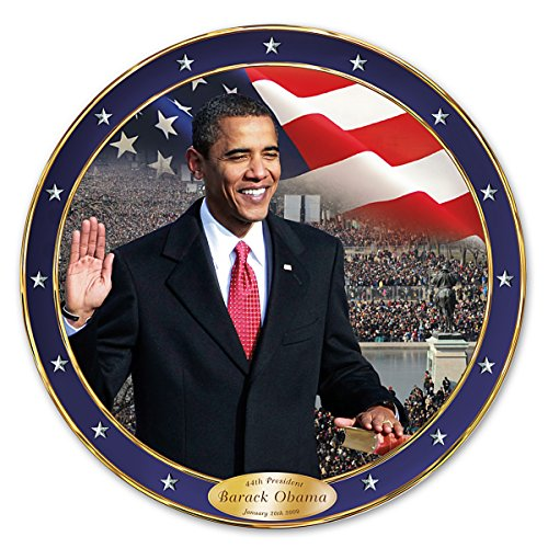The Time Has Come Barack Obama Commemorative Collector Plate by The Bradford Exchange