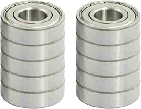 10 x MINIATURE BEARING 683-2Z METAL SHIELDED ID 3mm OD 7mm WIDTH 3mm