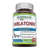 Pure Naturals Melatonin, 5 Mg, 180 Count