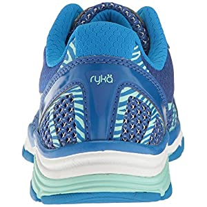 RYKA Women's Vida Rzx Cross-Trainer Shoe, Blue/Mint, 7.5 M US