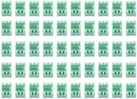 Luani 50個の小さな工具ねじオブジェクト電子部品収納ボックス実験室SMT SMDが自動的にパッチコンテナをポップアップ-緑