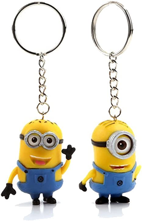 """NEW 2015 Despicable Me Minion Movie Set of 3 Minions 10/"""" inches BRAND NEW 3D eye"""