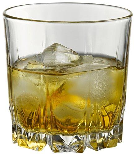 Pasabahce Karat Whisky Glass Set, Set of 6, Transparent