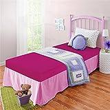 Spa Sensations 5'' Heat-sensitive Unisex Standard Multicolor Memory Foam Twin Youth Mattress For Bedroom, Multiple Colors - Fushia
