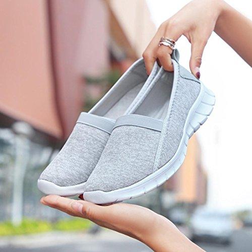 Scarpe Soft con Fashion Donna Eleganti Sportive Sneakers Homebaby n8wwZaOq