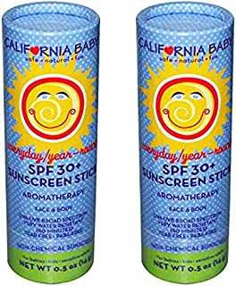 product image for California Baby Everyday/Year-round Sunblock Stick - SPF 30+ - .5 oz - 2 Pk - 2 pk.