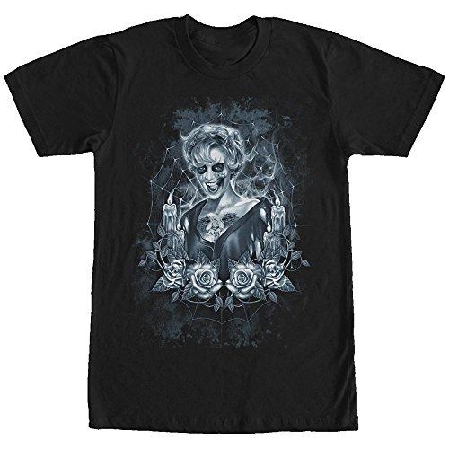 Lost Gods Halloween Zombie Femme Fatale Mens Graphic T (T Shirt Halloween Femme)
