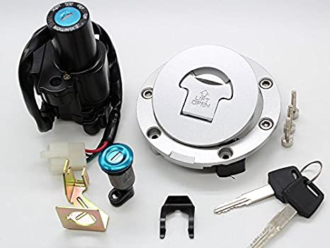 amazon com fxcnc racing cnc scooter 4 wire ignition switch fuel gas indak ignition switch wiring fxcnc racing cnc scooter 4 wire ignition switch fuel gas cap cover with key lock set