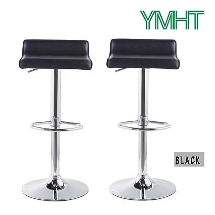 Fine Amazon Com Modern Black Chair Square Cushion Height With Machost Co Dining Chair Design Ideas Machostcouk