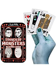 Accoutrements Deck of Council of Monsters Universal Playing Cards in Collectible Tin!