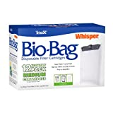 Tetra 26160 Whisper Bio-Bag Cartridge, Unassembled, Medium, 12-Pack