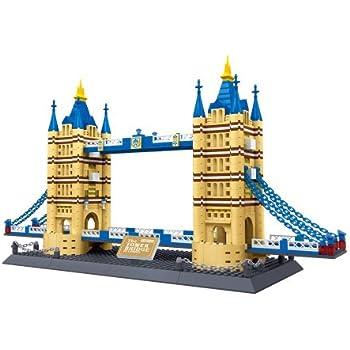 United Kingdom: Tower Bridge of London England Building Blocks 1033 pcs set World's great architecture series