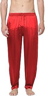 Intimo Men's Silk Drawstring Pajama Pants Bottom