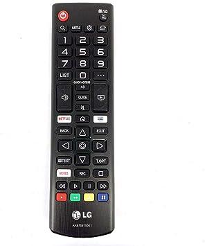 LG AKB75675301 Mando a Distancia Original para televisores LED Inteligentes 2018 2019: Amazon.es: Electrónica