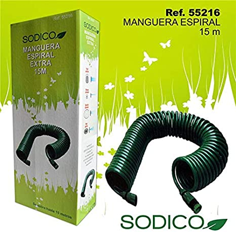 Sodico 55216 Manguera, Jardin: Amazon.es: Jardín