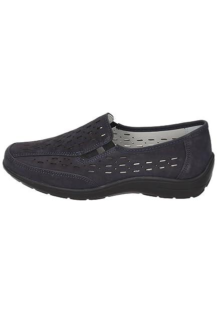 Comfortabel Damen-Slipper Blau 942191-5, Grösse 37