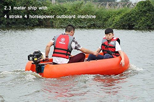 LEADALLWAY Four stroke 4 horsepower outboard motor outboard boat hook TM