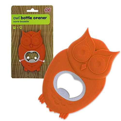 DCI Owl Bottle Opener, Orange