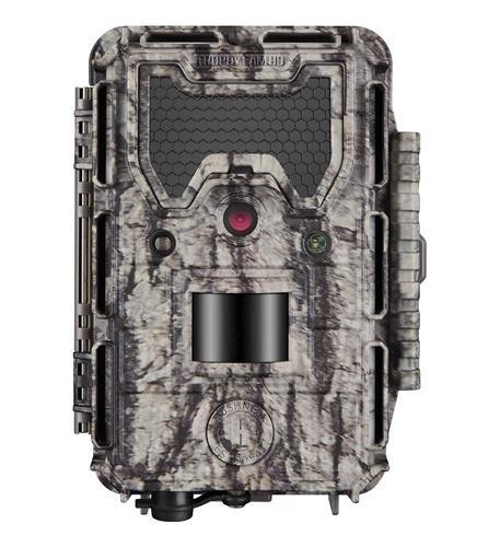 Bushnell 24MP Trophy Cam HD No Glow Trail Camera with Color Viewer, Camo Camouflage
