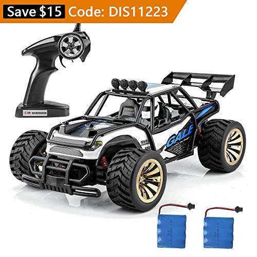 Distianert 1 16 Scale Electric Rc Car Off Road Vehicle 2 4Ghz Radio Remote Control Car 2W High Speed Racing Monster Truck