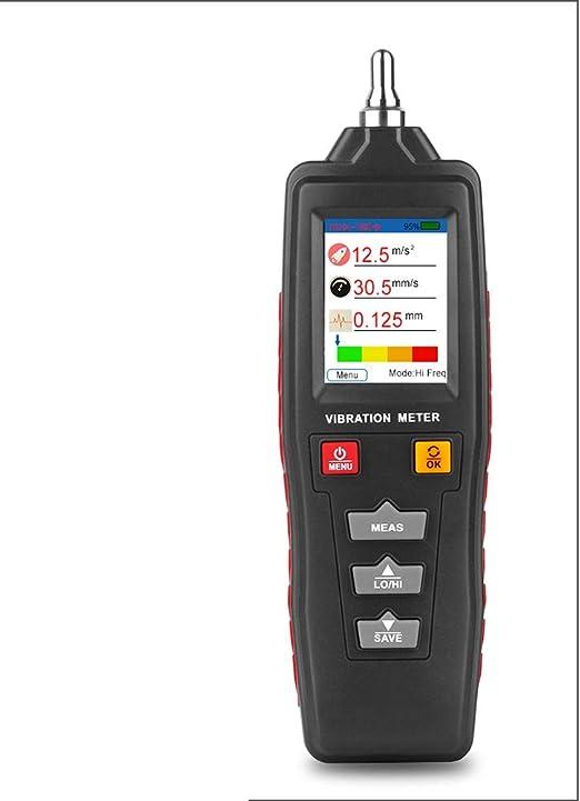 QWERTOUR Vibration Tester SW-65A Handheld Digital Vibration Meter Tester Measuring Machine Vibration Tester
