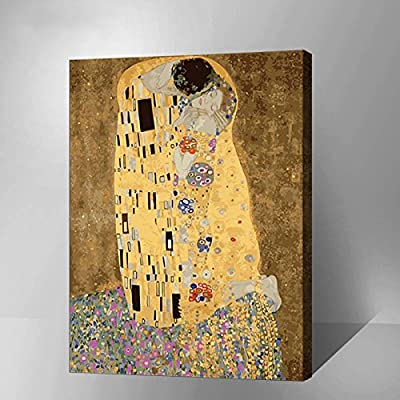 "MADE4U [Famous Art Collection] [20""] [Thicker (1"")] [Wood Framed] Paint By Numbers Kit with Brushes and Paints (Deep feeling, YWYZ8111): Arts, Crafts & Sewing"