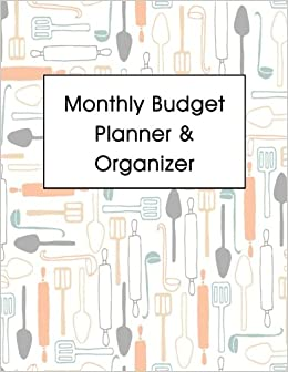 monthly budget planner organizer bill organizer book monthly and