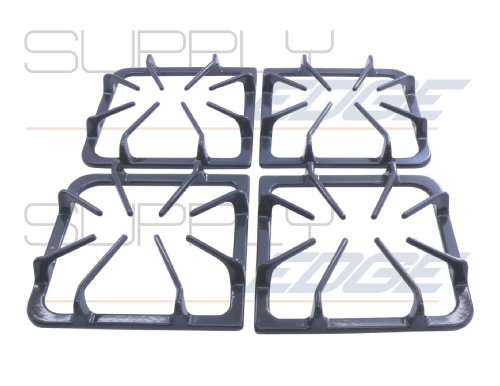 Burner Grate Kit in Set of 4 - Frigidaire AP3965768, 318221523, Graphite Gray