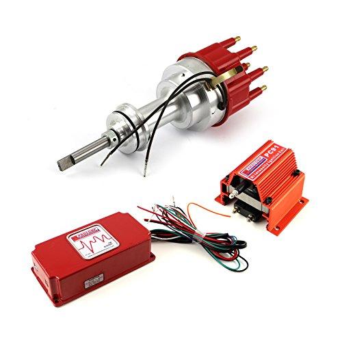 Mopar fits Chrysler 318 340 360 Pro Billet Distributor 6AL CDI Ignition & Coil Kit