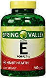 Spring Valley E Vitamin Dietary Supplement 500 ct For Sale