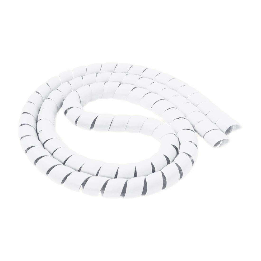 14 mm Espiral Alambre Organizador Envoltura Tubo ign/ífugo Manga de Cable Espiral Bandas di/ámetro Carcasa Tubo uu19ee 10 mm