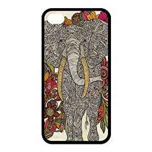 Customize Aztec Elephant Back Cover Case for iphone 4 4S