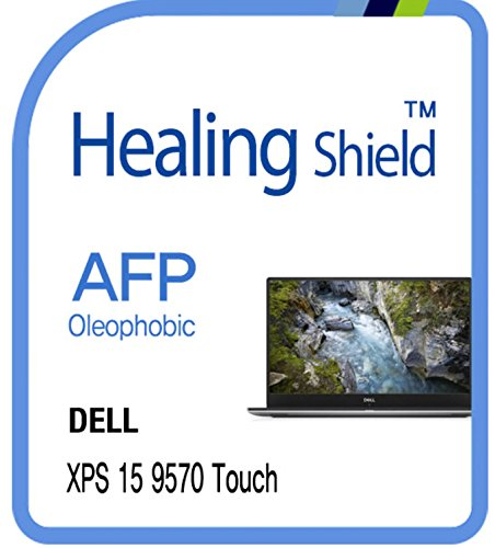 Screen Protector for Dell XPS 15 9570 TouchScreen, AFP Oleophobic Coating Screen Protector Clear LCD Guard Healing Shield Dell XPS 15 9570 Film
