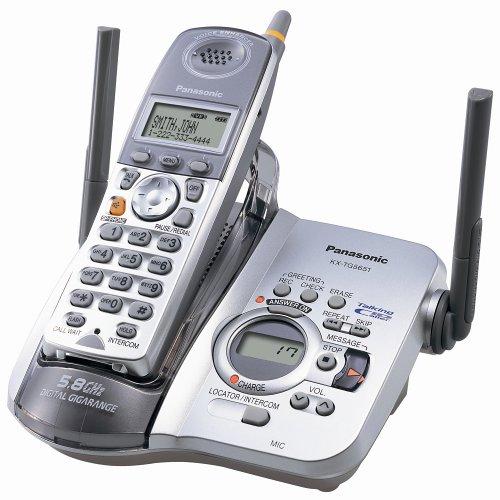 Panasonic KX-TG5651S 5.8 GHz FHSS GigaRange  Digital Cordless Telephone