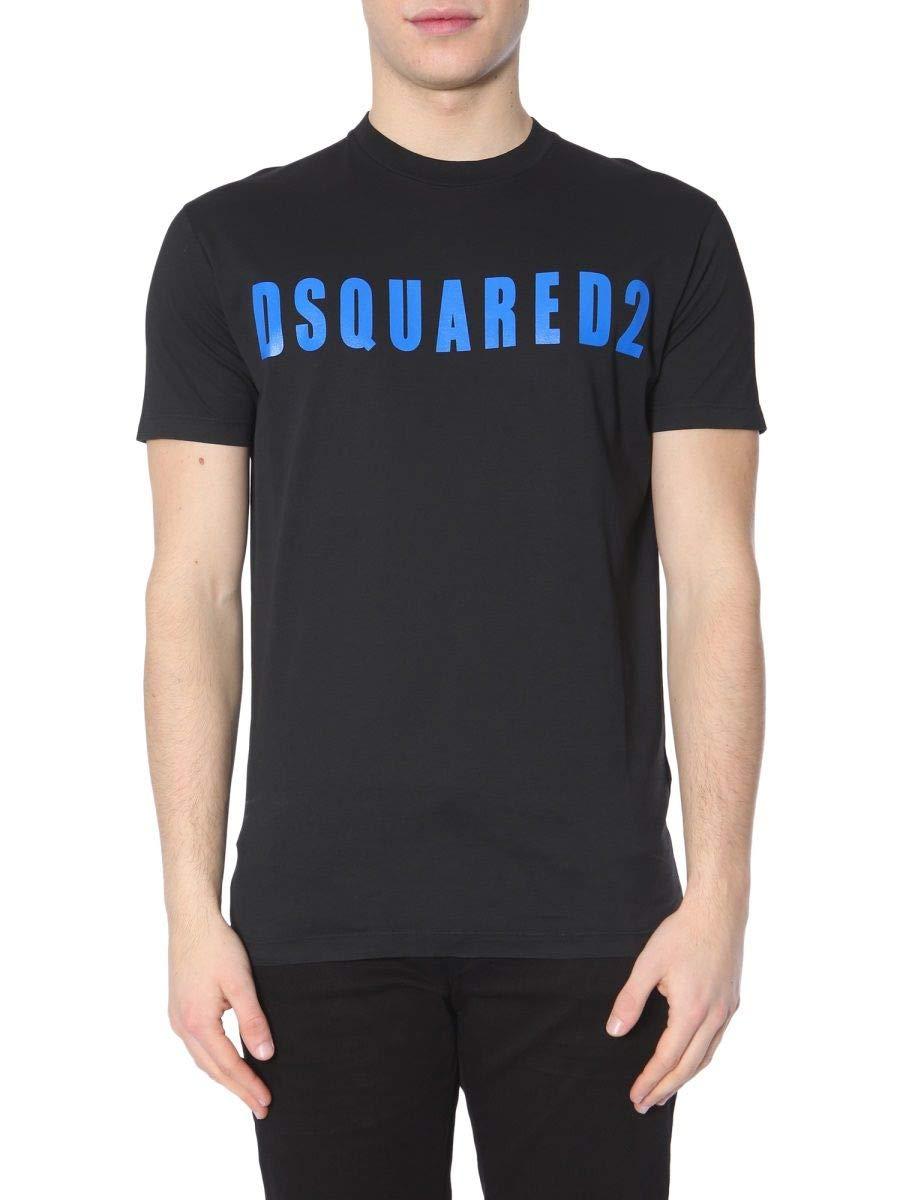 DSQUARED2 Men's S74gd0488s22427977x Black Cotton T-Shirt