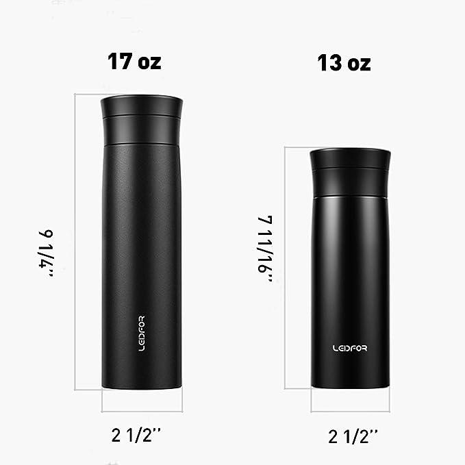Amazon.com: Leidfor - Botella de té con infusor de té y ...