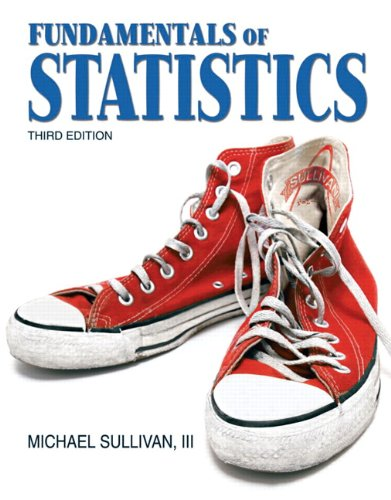 Fundamentals Of Statistics 4th Edition Textbook Solutions