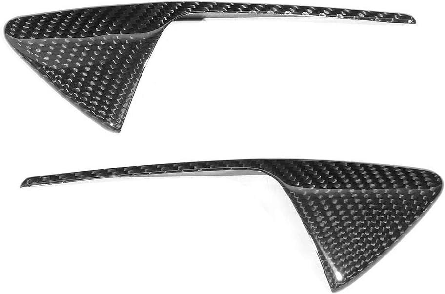 Garniture de cam/éra lat/érale de voiture 1 paire de protections de cam/éra lat/érale en fibre de carbone pour d/écoration