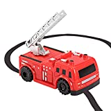 jeep fire truck - Magic Inductive Toy, Etpark Magic Inductive Car Tank Truck Toy With Marker Pen, Move Following Any Drawn Line for Pre-school Learning and Children (Red Firetruck)