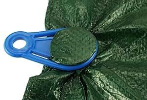 Costo Wise® Pack de 4 azul lona Pinza
