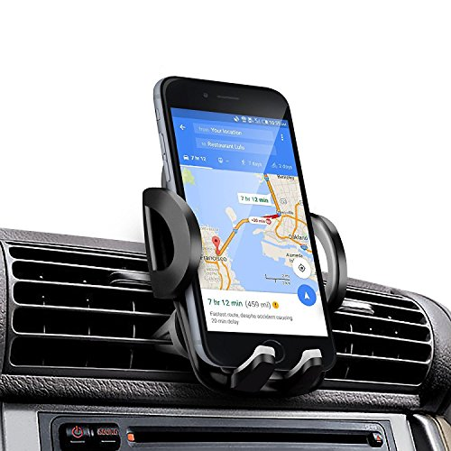 Amotus AM 35 Universal Adjustable Air Vent Car Phone Holder Car Cradle Mount Kit For Smart Phones And GPS Device