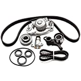 ECCPP Timing Belt Water Pump Kit Fits Honda Prelude 2.2L DOHC H22A1 H22A4
