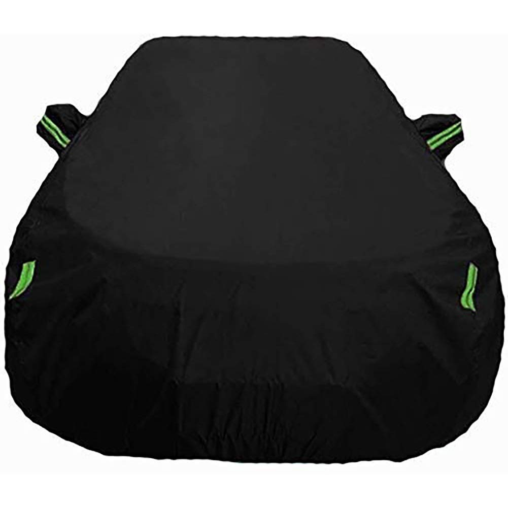 Size : XKR|Black Breathable Waterproof Sun UV Car Cover Jaguar F-Pace Car Clothing XFL XE XJ Special Coverage From The XKR Car F-Type Solar Protection Oxford Rain Cover of Cars Color: Black